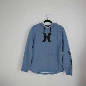 Hurley heather blue hoodie